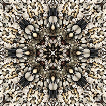 Mandala 13 - Pebbles by MiekeKupers