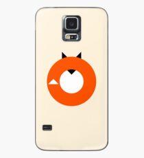 Ein minimalistischer Fox Hülle & Klebefolie für Samsung Galaxy