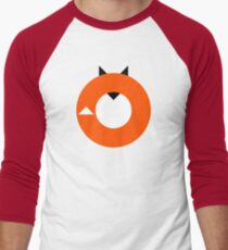 A Most Minimalist Fox Men's Baseball ¾ T-Shirt