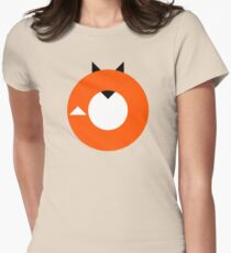 A Most Minimalist Fox Womens Fitted T-Shirt