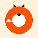 A Most Minimalist Fox by Nicholas Ely