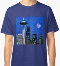 591eb75c70 Space Needle Painting & Mixed Media T-Shirts | Redbubble
