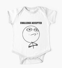 Challenge Accepted (HD) Kids Clothes