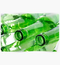 Beer Bottles Poster