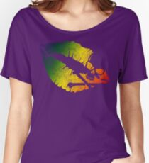 rainbow poison lips Women's Relaxed Fit T-Shirt
