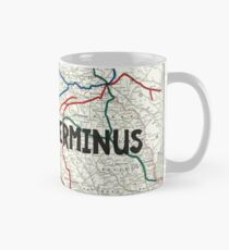 The Walking Dead - Terminus Map Mug
