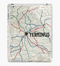 The Walking Dead - Terminus Map iPad Case/Skin