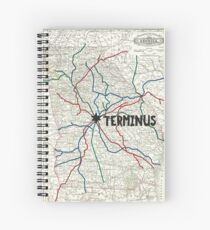 The Walking Dead - Terminus Map Spiral Notebook