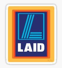 LAID Glossy Sticker