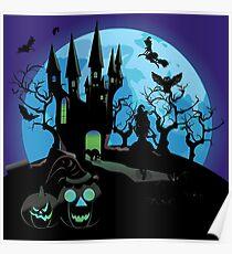 Haunted Halloween Castle 3 Poster