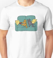 Gamer Cats Unisex T-Shirt