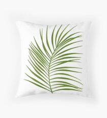 Leaf Print - 1 Throw Pillow