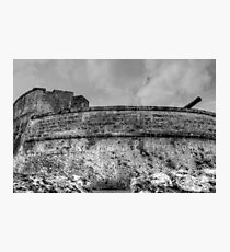 Historical Places of Nassau, The Bahamas: Fort Fincastle Photographic Print