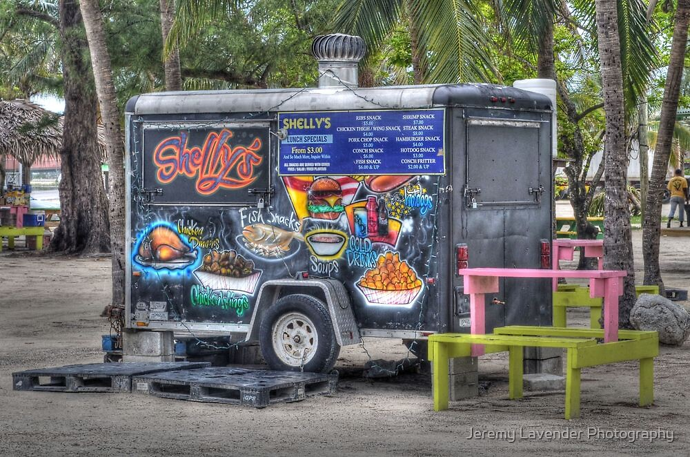 Shelly's snacks at Arawak Cay in Nassau, The Bahamas by Jeremy Lavender Photography