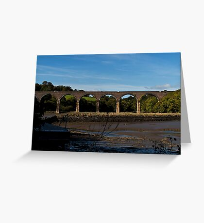 Forder Viaduct Greeting Card