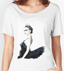 Black Swan Women's Relaxed Fit T-Shirt