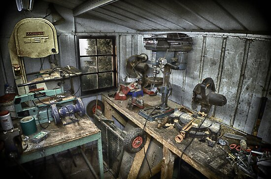 A PLACE OF WORK by Rob  Toombs