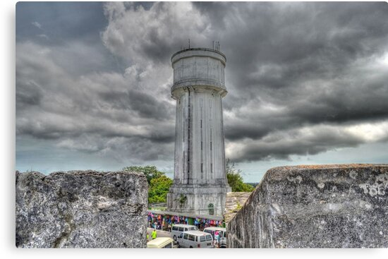 The Water Tower in Nassau, The Bahamas by Jeremy Lavender Photography