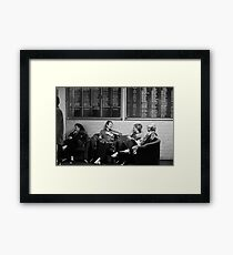 as we are Framed Print