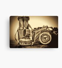 VINTAGE 35MM Canvas Print