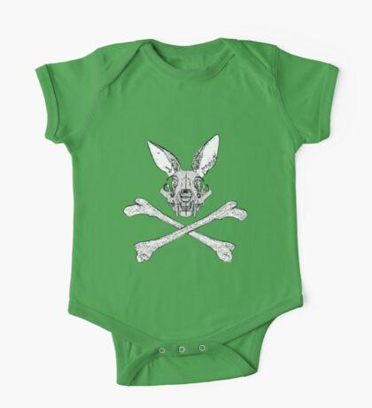 bunny cross bones Kids Clothes