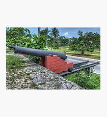 West Bay Street at Arawak Cay in Nassau, The Bahamas Photographic Print