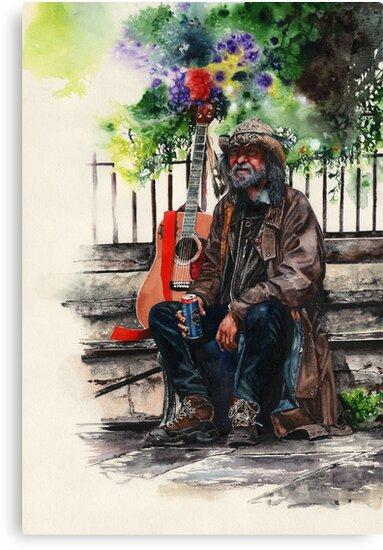 Glastonbury Man by Peter Williams