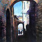 Untitled 4 - città toscane by Richard Sunderland