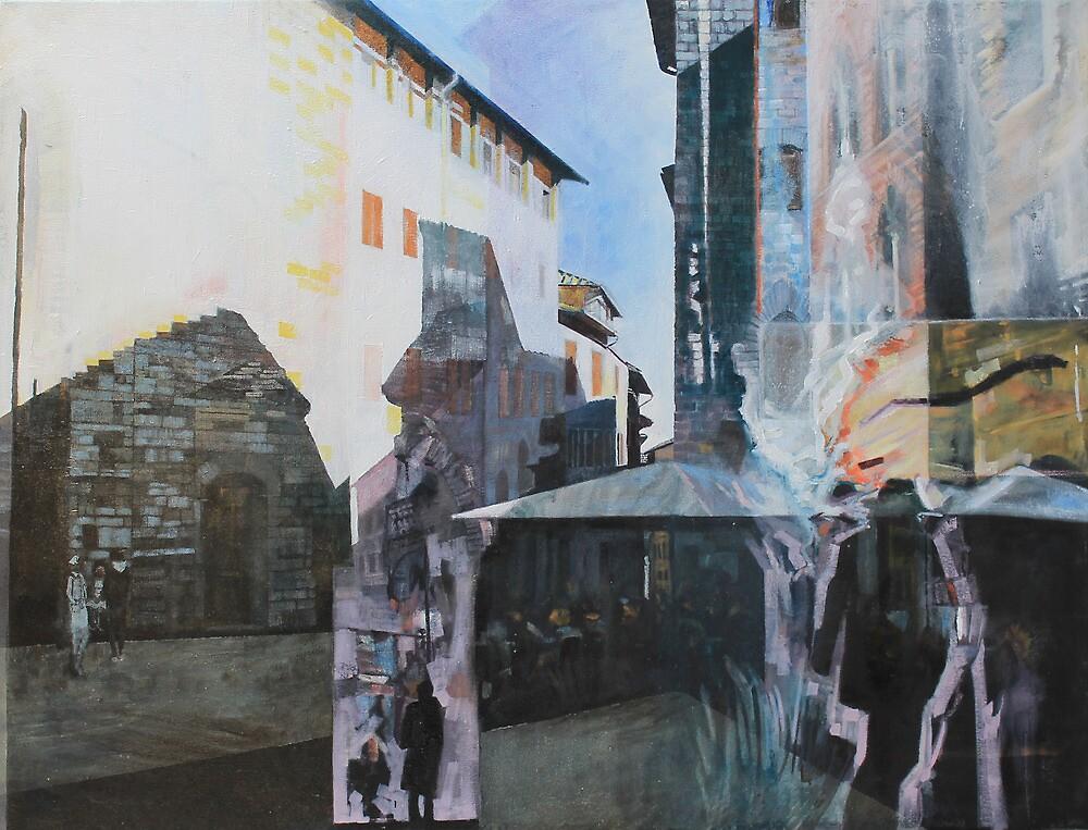 Untitled 8 - città toscane by Richard Sunderland