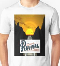 Rails Across America...Rails Across Time...2012 Railroad Revival Tour T-Shirt