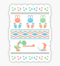 Wool is Cool. Special Christmas Ugly Sweater Sticker