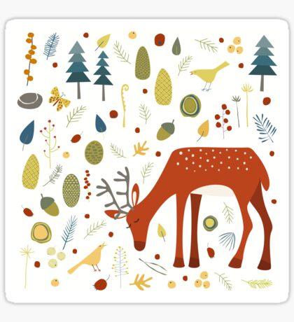 Oh Deer Sticker