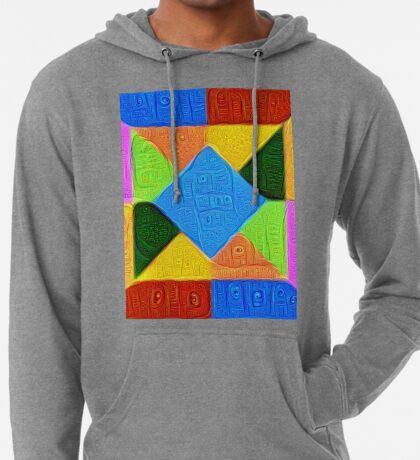 DeepDream Color Squares Visual Areas 5x5K v1447926834 Lightweight Hoodie