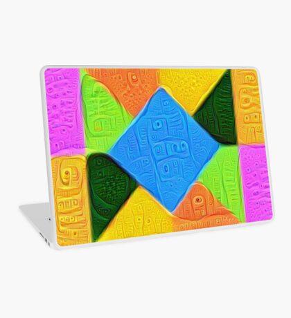 DeepDream Color Squares Visual Areas 5x5K v1447926834 Laptop Skin