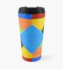 DeepDream Color Squares Visual Areas 5x5K v1447926834 Travel Mug