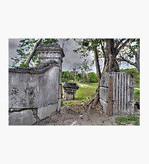 On West Bay Street at Arawak Cay - Nassau, The Bahamas Photographic Print