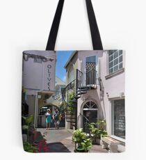 Downtown Nassau, The Bahamas Tote Bag