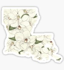 Louisiana Flowers Sticker