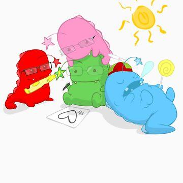 Dinostars - Ending Summer by ScoobyKun