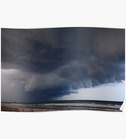 Heavy clouds Poster