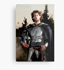 A knight in shining armour  Metal Print