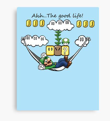 """""""Ahh, The Good Life!"""" Canvas Print"""
