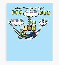 """Ahh, The Good Life!"" Photographic Print"