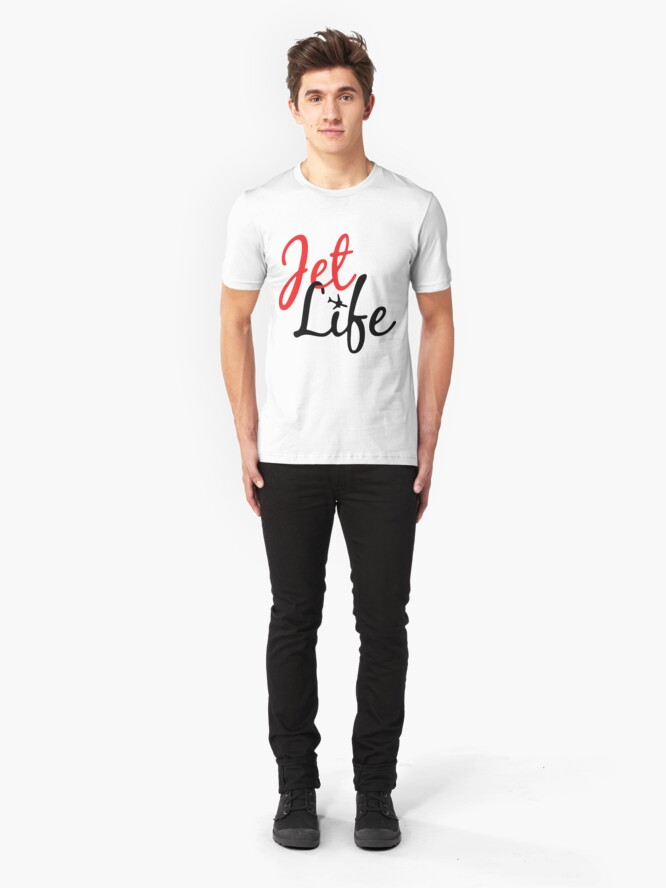 Alternate view of Jet Life Clothing Slim Fit T-Shirt