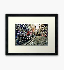 Hosier Lane 2 Framed Print