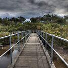 Screw Creek Bridge - Inverloch HDR Series by Jackson  McCarthy