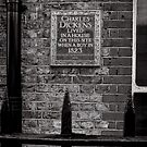Charles Dickens lived here - Britain by Norman Repacholi