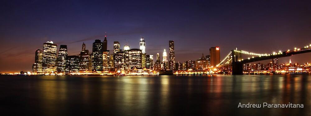 Manhattan Panoramic by Andrew Paranavitana