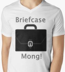 Briefcase Mong! Men's V-Neck T-Shirt