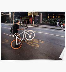 Street Bikes Poster